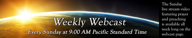 View Church Webcast - Resurrection Life of Jesus Church. Carmichael, CA, Sacramento County