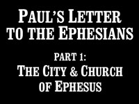 Pastor John S. Torell - sermon on THE CITY & CHURCH OF EPHESUS - Resurrection Life of Jesus Church: Carmichael, CA - Sacramento County