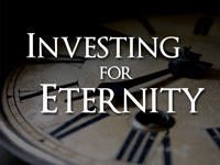 Pastor John S. Torell - sermon on INVESTING FOR ETERNITY - Resurrection Life of Jesus Church: Carmichael, CA - Sacramento County