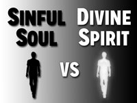 Pastor John S. Torell - sermon on SINFUL SOUL VS. DIVINE SPIRIT - Resurrection Life of Jesus Church