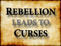 Pastor John S. Torell - sermon on REBELLION LEADS TO CURSES - Resurrection Life of Jesus Church