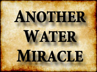 Pastor John S. Torell - sermon on ANOTHER WATER MIRACLE - Resurrection Life of Jesus Church