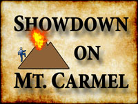 Pastor John S. Torell - sermon on SHOWDOWN ON MOUNT CARMEL - Resurrection Life of Jesus Church