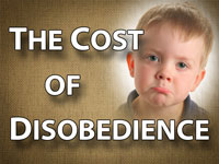 Pastor John S. Torell - sermon on THE COST OF DISOBEDIENCE - Resurrection Life of Jesus Church