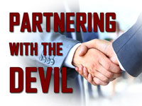 Pastor John S. Torell - sermon on PARTNERING WITH THE DEVIL - Resurrection Life of Jesus Church