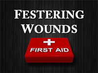 Pastor John S. Torell - sermon on FESTERING WOUNDS - Resurrection Life of Jesus Church