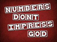Pastor John S. Torell - sermon on NUMBERS DON'T IMPRESS GOD - Resurrection Life of Jesus Church