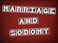 Pastor John S. Torell - sermon on MARRIAGE & SODOMY - Resurrection Life of Jesus Church