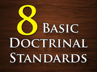Pastor John S. Torell - sermon on EIGHT BASIC DOCTRINAL STANDARDS - Resurrection Life of Jesus Church