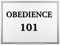 Pastor John S. Torell - sermon on OBEDIENCE 101 - Resurrection Life of Jesus Church