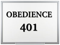 Pastor John S. Torell - sermon on OBEDIENCE 401 - Resurrection Life of Jesus Church