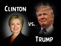 Pastor John S. Torell - sermon on 2016 PRESIDENTIAL ELECTION: CLINTON VS. TRUMP - Resurrection Life of Jesus Church