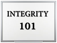 Pastor John S. Torell - sermon on INTEGRITY 101 - Resurrection Life of Jesus Church