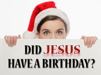 Pastor John S. Torell - sermon on DID JESUS HAVE A BIRTHDAY? - Resurrection Life of Jesus Church