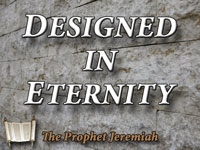 Pastor John S. Torell - sermon on DESIGNED IN ETERNITY - Resurrection Life of Jesus Church