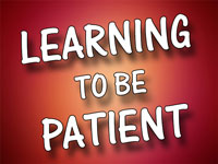 Pastor Charles M. Thorell - sermon on LEARNING TO BE PATIENT - Resurrection Life of Jesus Church