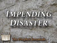 Pastor John S. Torelll - sermon on IMPENDING DISASTER - Resurrection Life of Jesus Church
