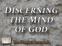 Pastor John S. Torelll - sermon on DISCERNING THE MIND OF GOD - Resurrection Life of Jesus Church