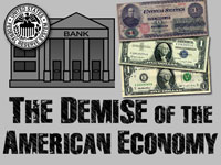 Pastor John S. Torell - message on THE DEMISE OF THE AMERICAN ECONOMY - Resurrection Life of Jesus Church: Carmichael, CA - Sacramento County