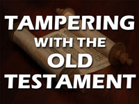 Pastor John S. Torell - sermon on TAMPERING WITH THE OLD TESTAMENT - Resurrection Life of Jesus Church: Carmichael, CA - Sacramento County