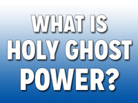 Pastor John S. Torell - sermon on WHAT IS HOLY GHOST POWER? - Resurrection Life of Jesus Church