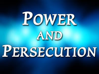 Pastor Charles M. Thorell - sermon on POWER & PERSECUTION - Resurrection Life of Jesus Church