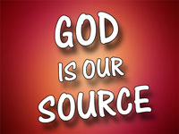 Pastor Charles M. Thorell - sermon on GOD IS OUR SOURCE - Resurrection Life of Jesus Church