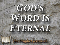 Pastor Charles M. Thorell - sermon on GOD'S WORD IS ETERNAL - Resurrection Life of Jesus Church