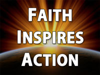 Pastor Charles M. Thorell - sermon on FAITH INSPIRES ACTION - Resurrection Life of Jesus Church